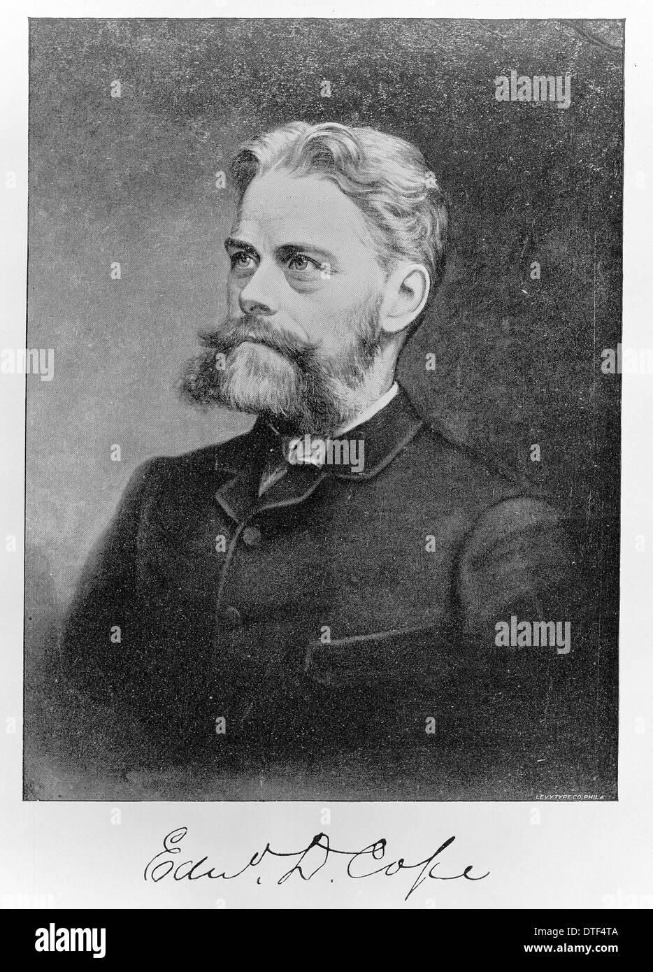Edward Drinker Cope (1840-1897) - Stock Image