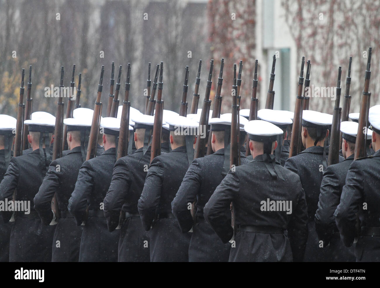 Berlin, Germany, guard battalion of the Bundeswehr - Stock Image
