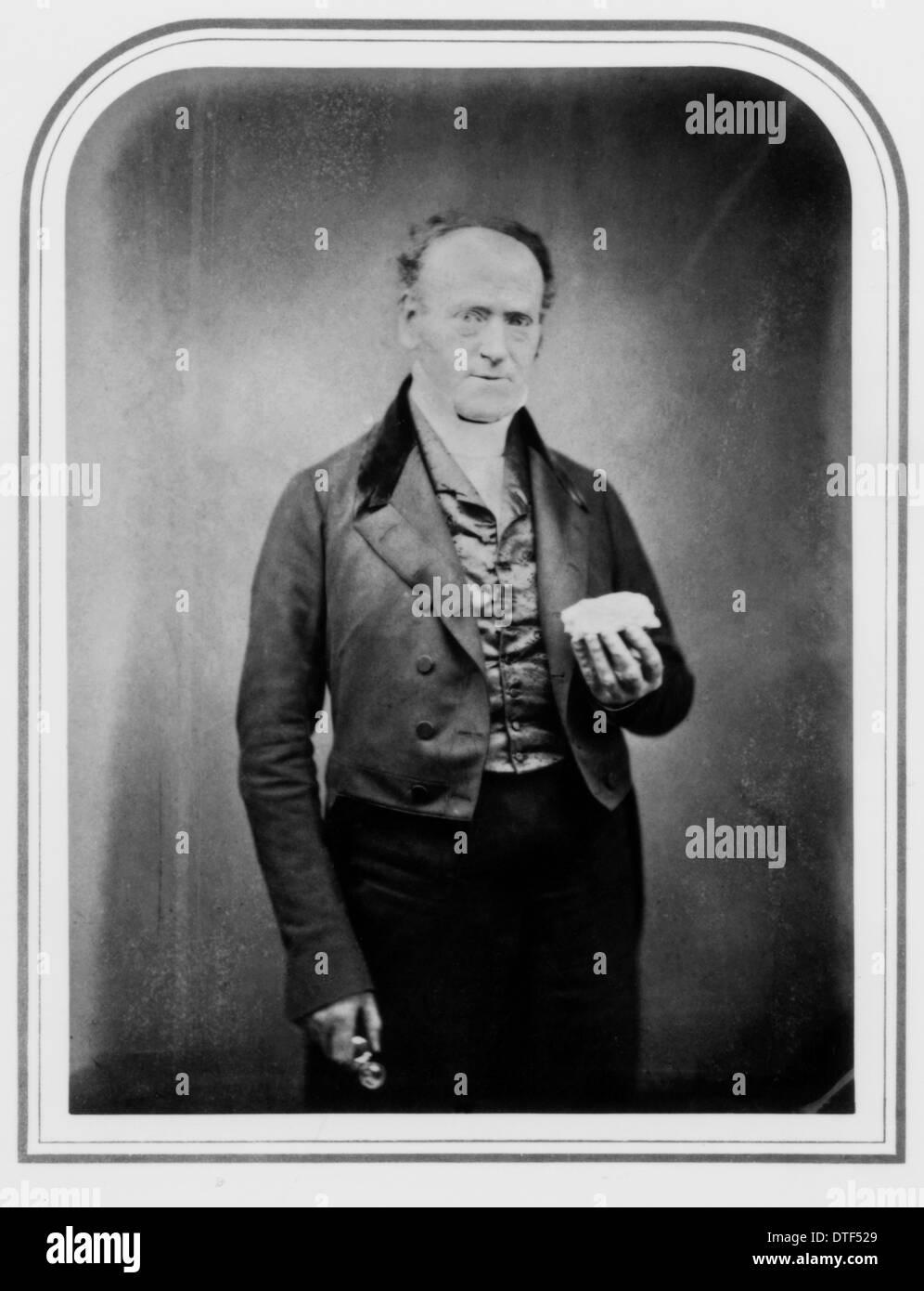Professor Robert Edmond Grant, M.D., F.R.S (1793-1874) - Stock Image