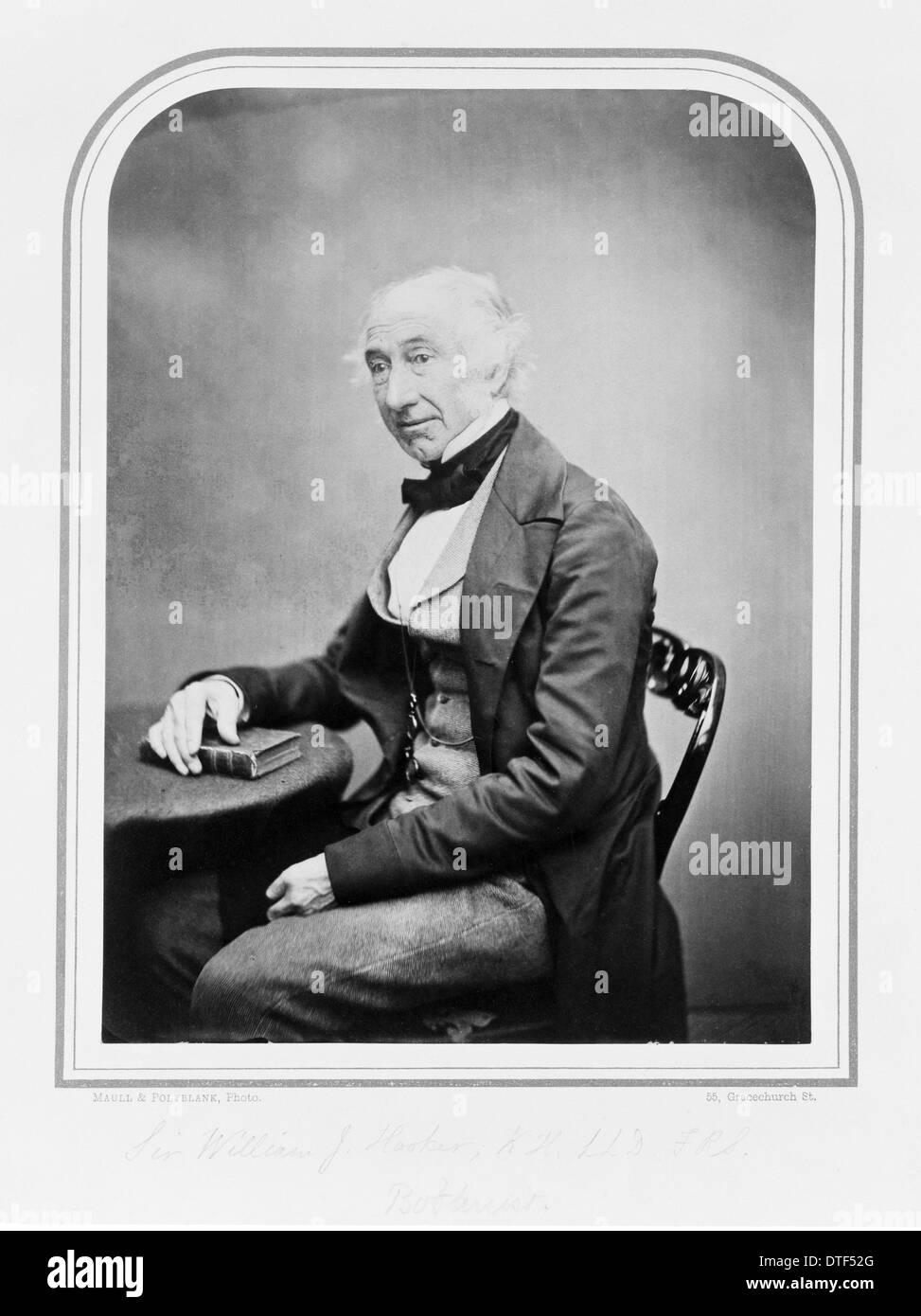 Sir William Jackson Hooker (1785-1865) - Stock Image