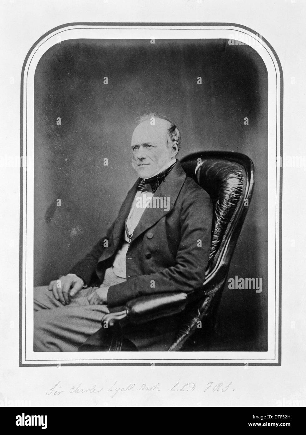 Sir Charles Lyell, Bart., F.R.S. (1797-1875) - Stock Image