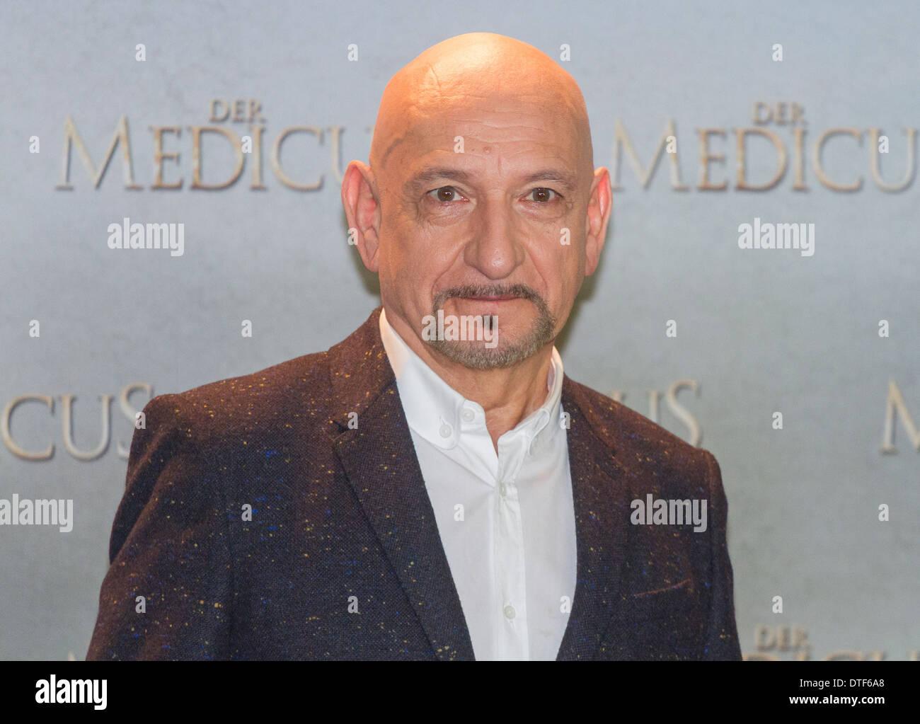Berlin, Germany, actor Sir Ben Kingsley - Stock Image