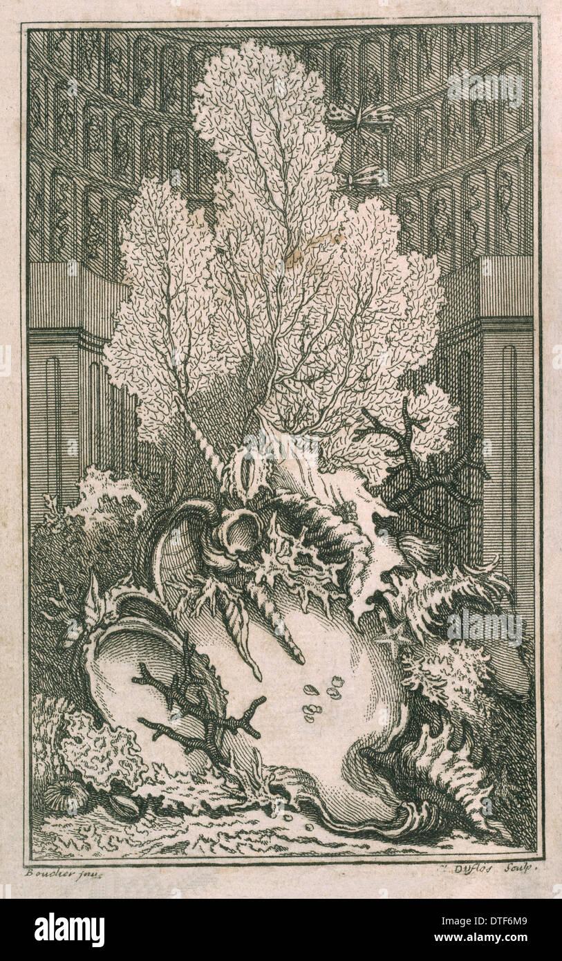 Frontispiece of Catalogue Raisonne d'une collection - Stock Image