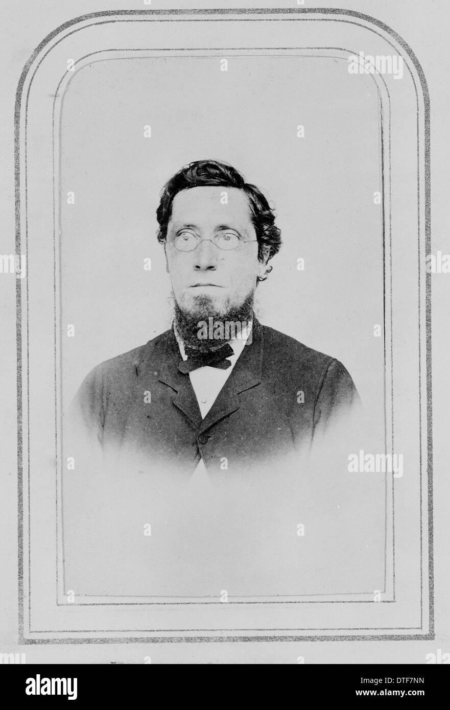 Dr. Henry Fletcher Hance (1827–1886) - Stock Image