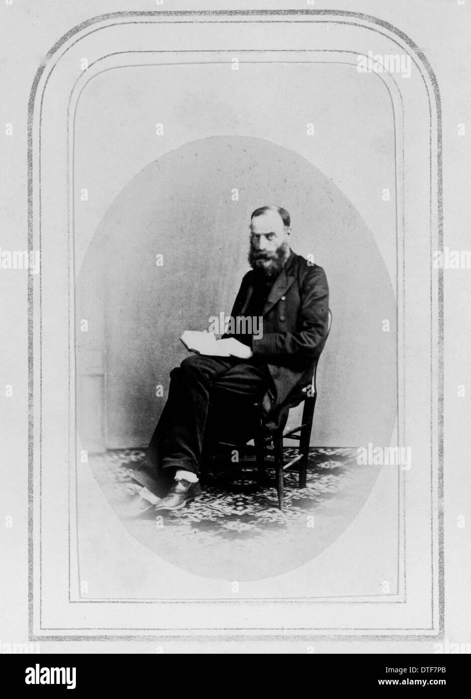 William Williamson Newbould (1819-1886) - Stock Image