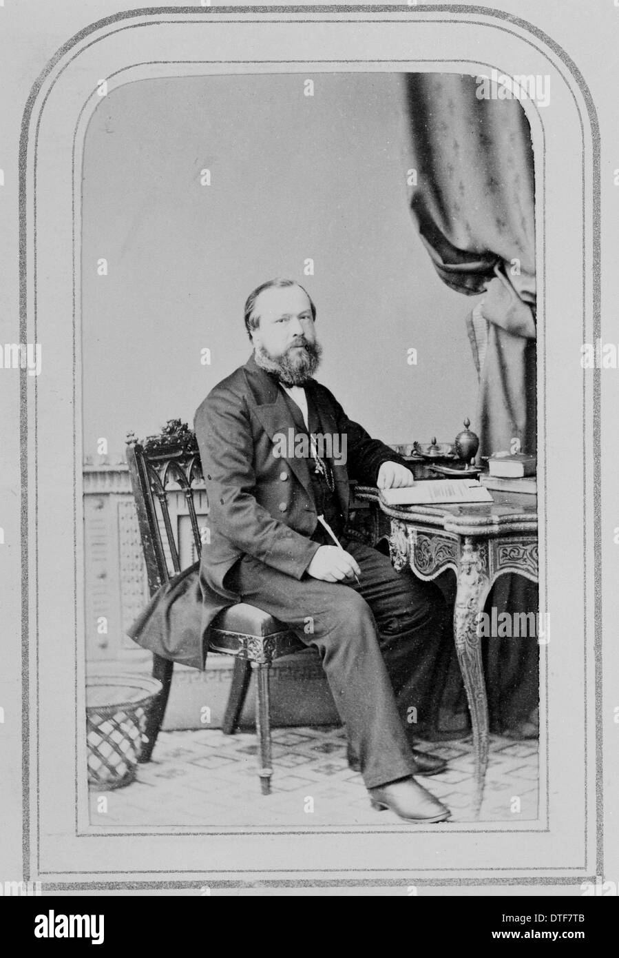 Thomas Moore (1821-1887) - Stock Image