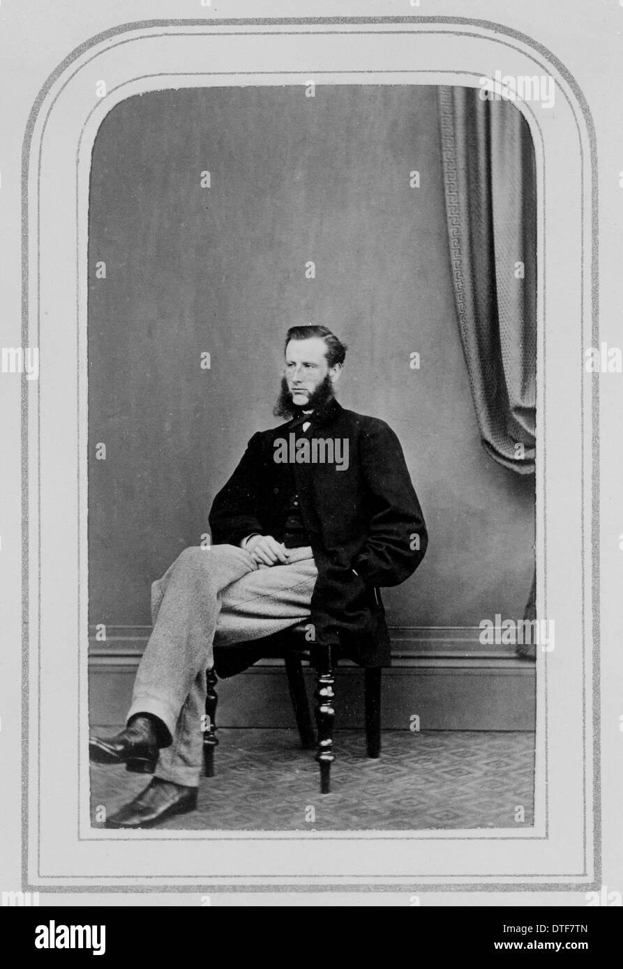 John Henry Davies (1838-1909) - Stock Image