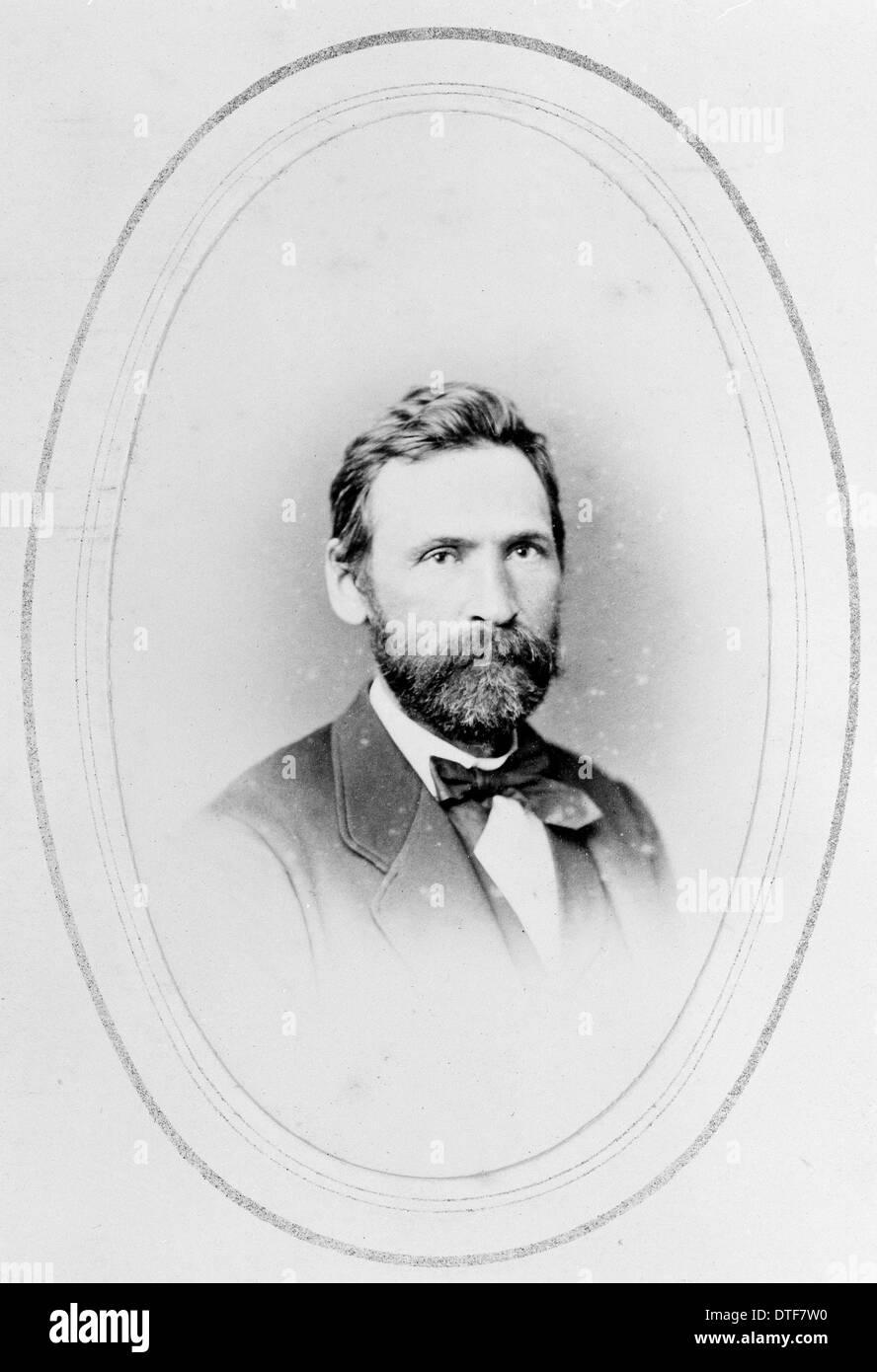 Auguste Francois Marie Glaziou (1828-1906) - Stock Image