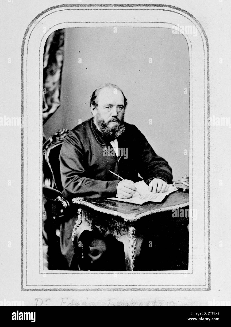 Sir Edwin Lankester (1814-1874) - Stock Image