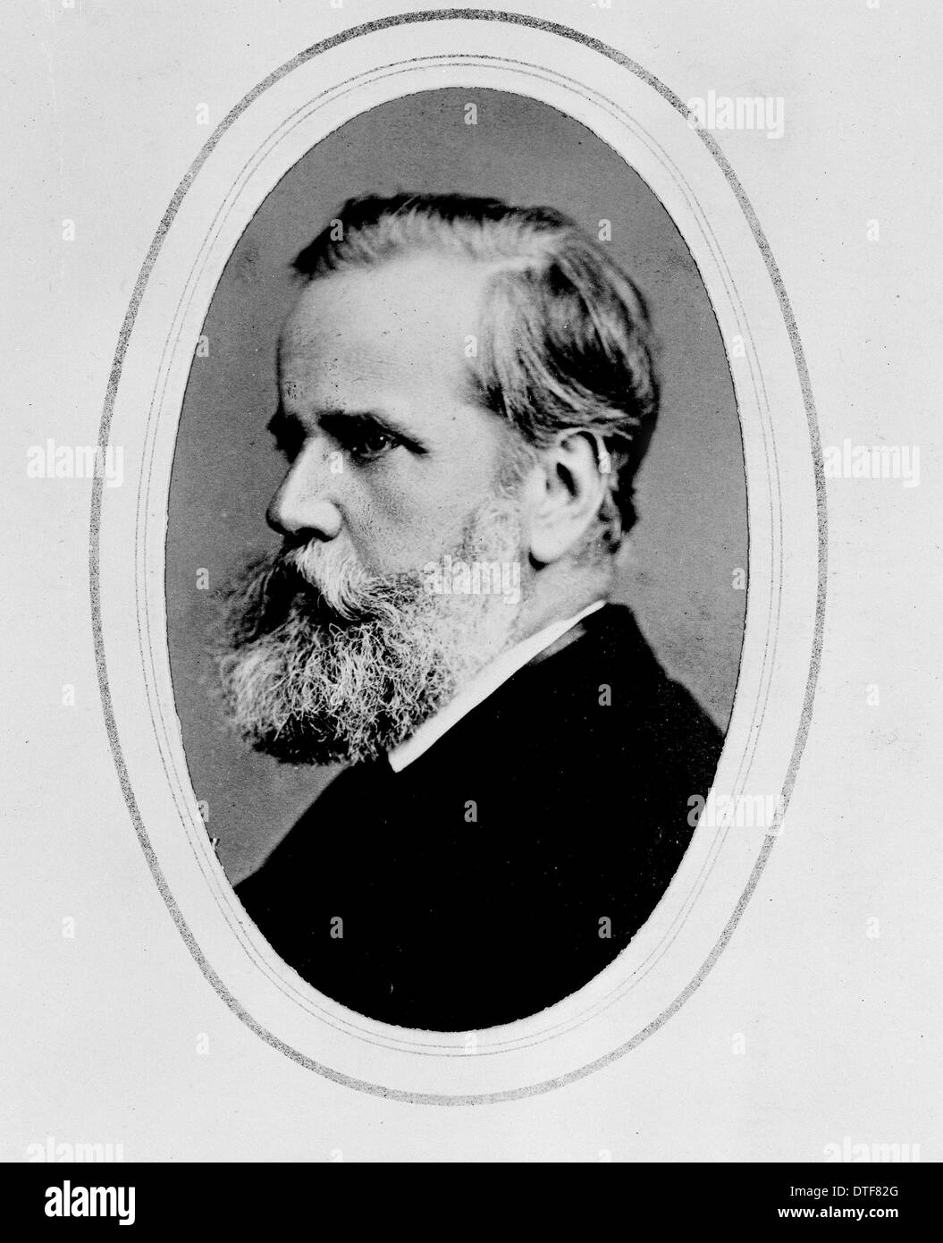 Dom Pedro II, Emperor of Brazil (1825-1891) - Stock Image