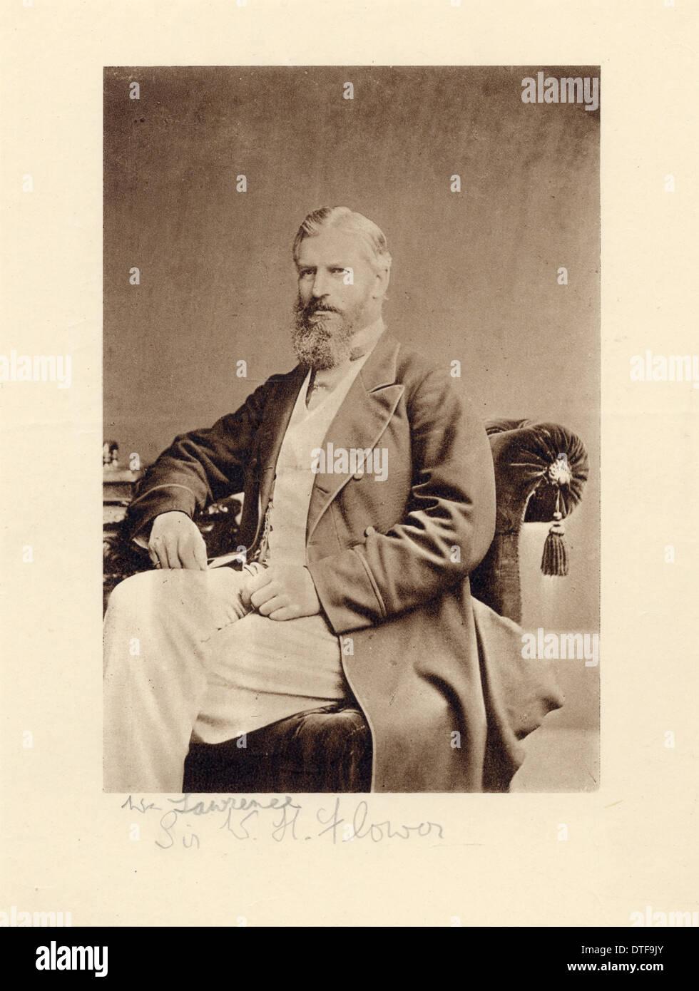Sir William Henry Flower (1831-1899) - Stock Image