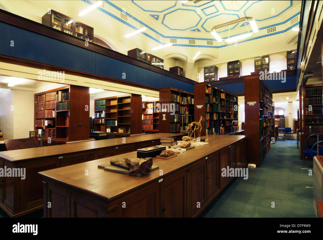 The Botany Library Special Collections Room - Stock Image