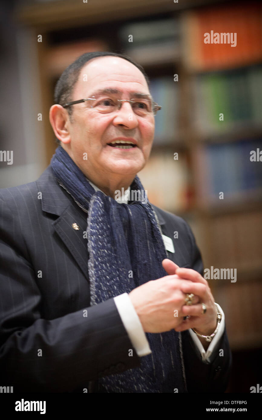 Sir Howard Bernstein is a civil servant who is Chief Executive of Manchester City Council at Manchester Town Hall. - Stock Image