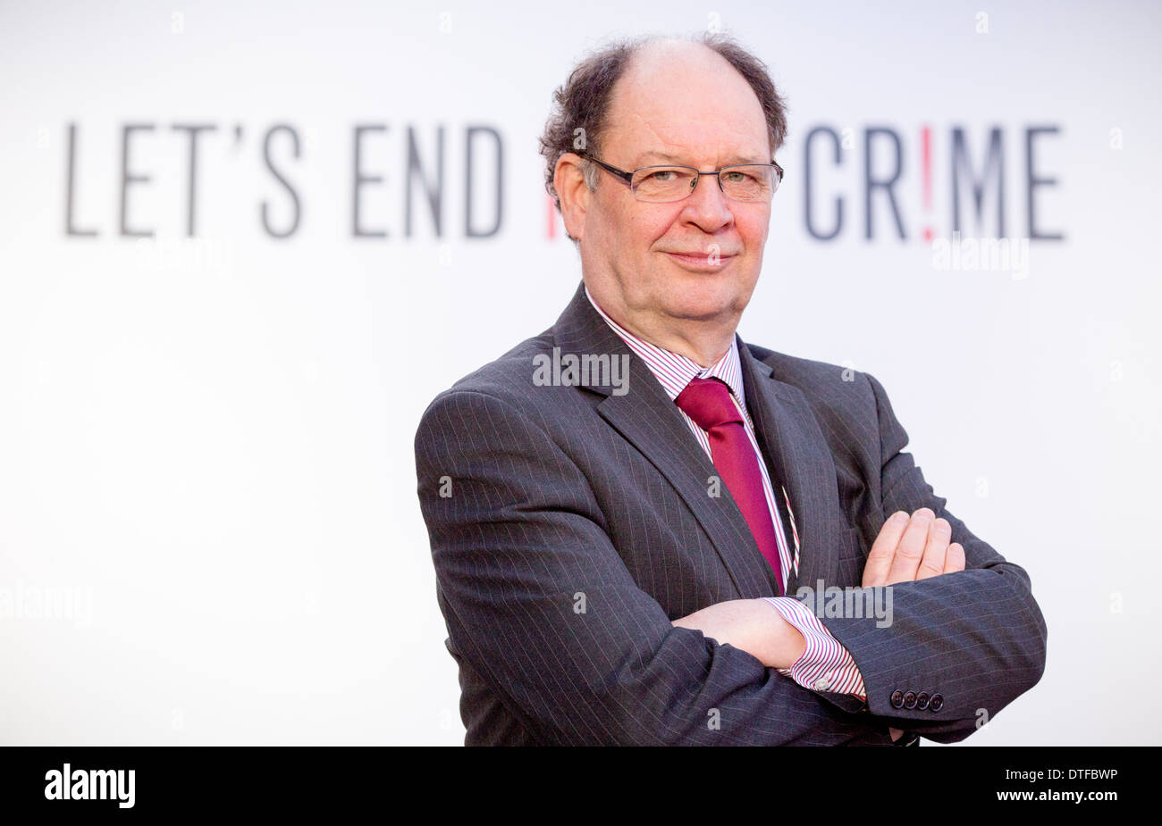 Manchester's hate crime strategy at Manchester Town Hall Cllr Jim Battle - Stock Image