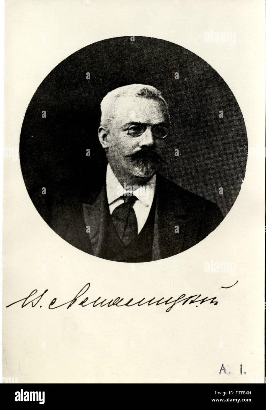 Vladimir Prokhorovich Amalitzkii (1860-1917) - Stock Image