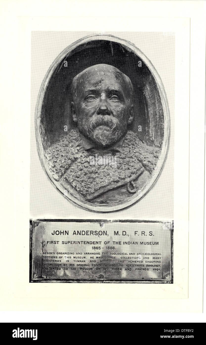 Dr John Anderson (1833-1900) - Stock Image