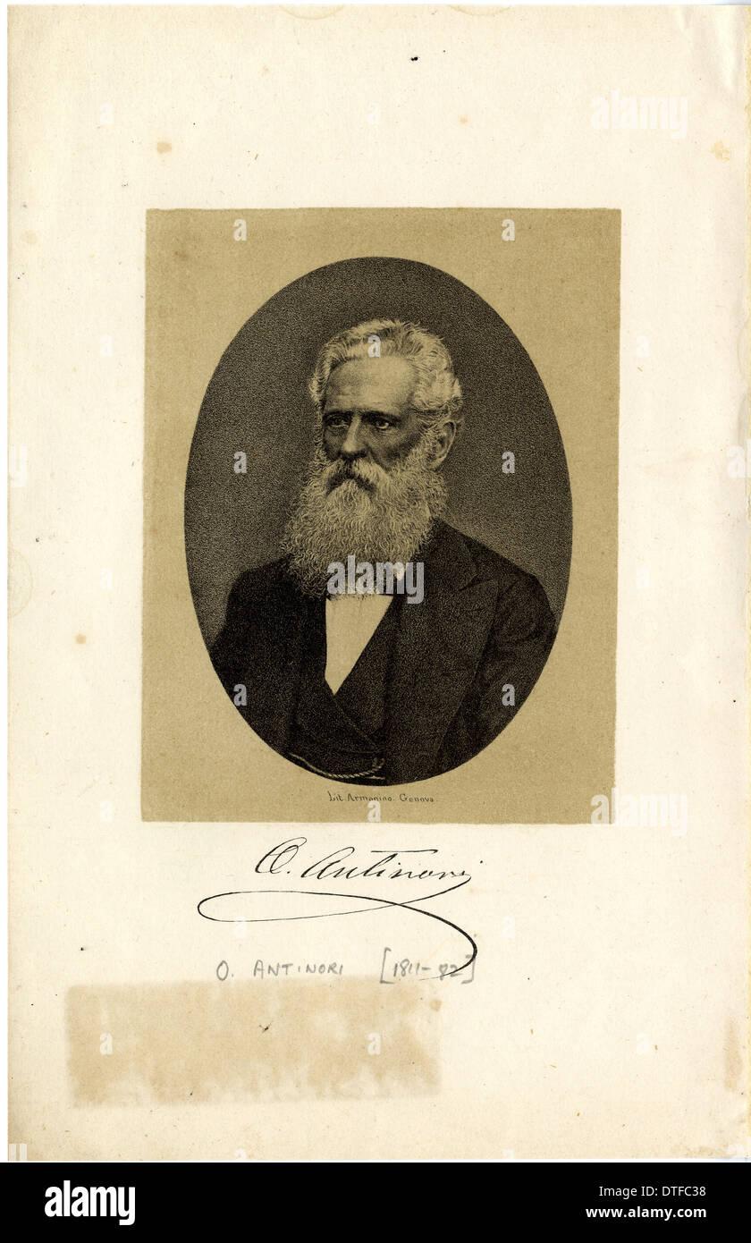 Orazio Marquess Antinori (1811-1882) - Stock Image