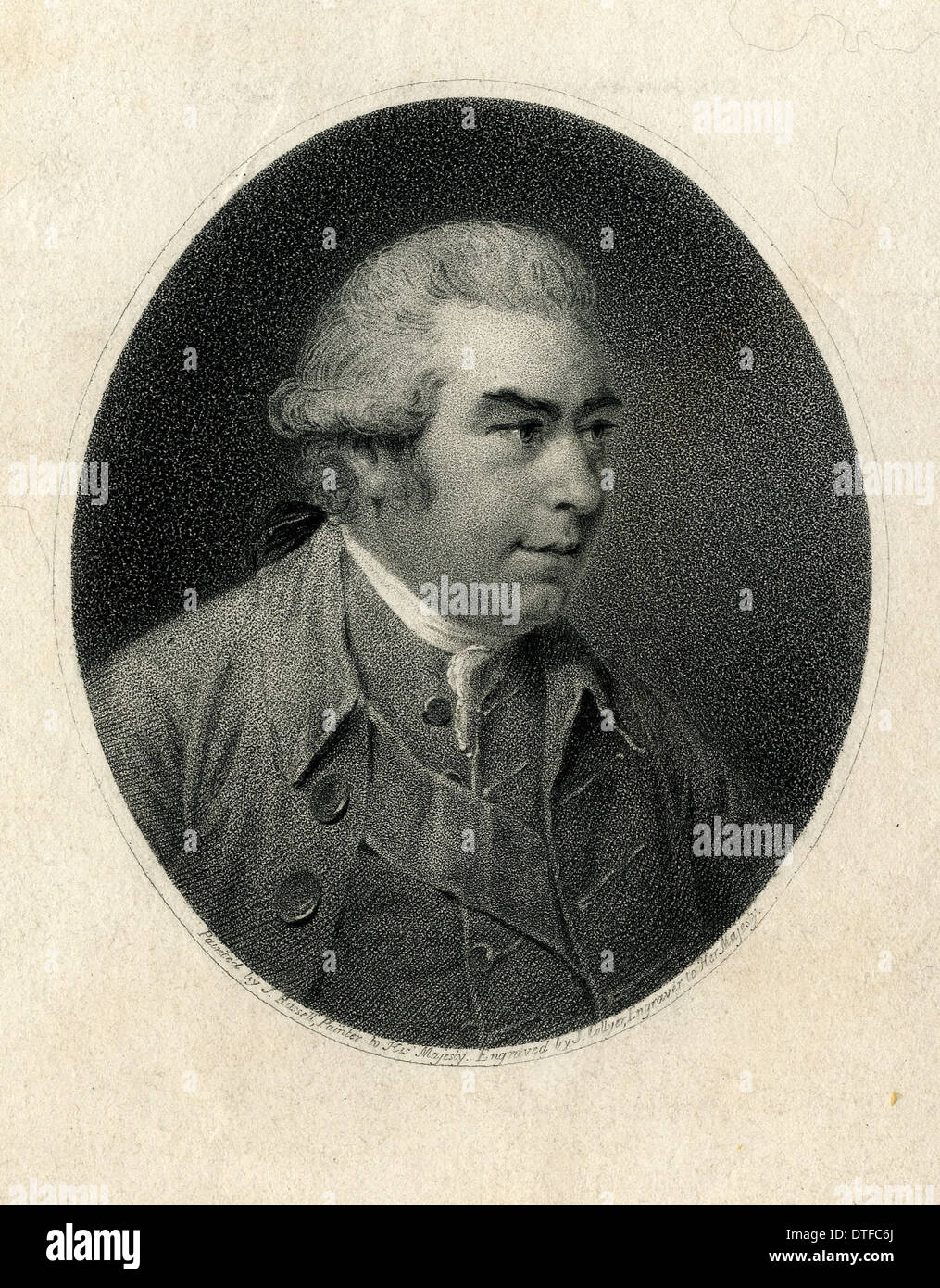 Sir Joseph Banks (1743-1820) Stock Photo