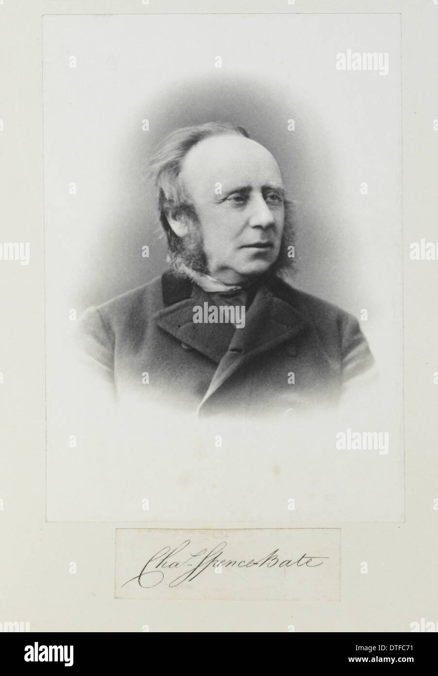 Charles Spence Bate (1819-1889) - Stock Image