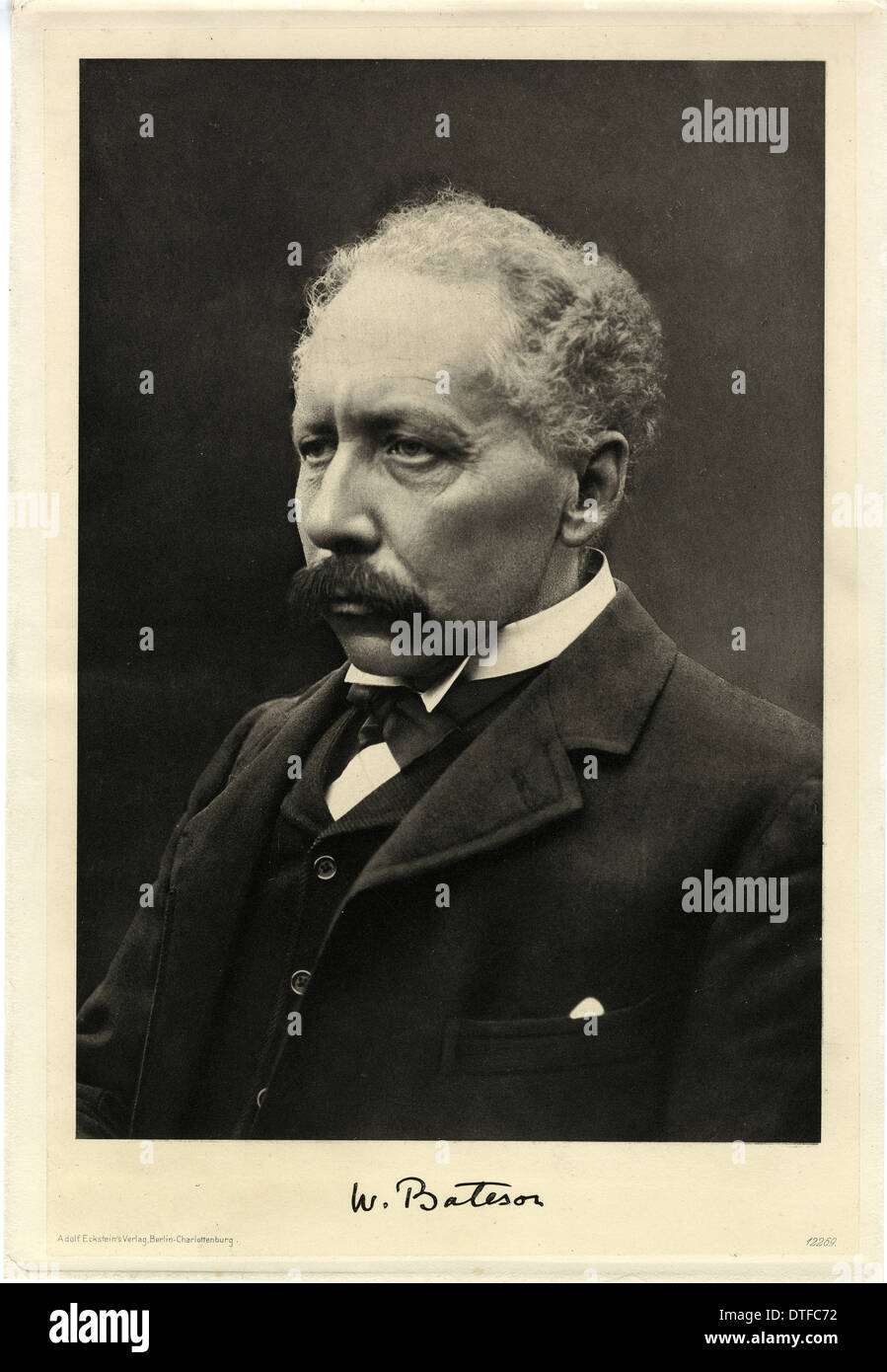 William Bateson (1861-1926) - Stock Image