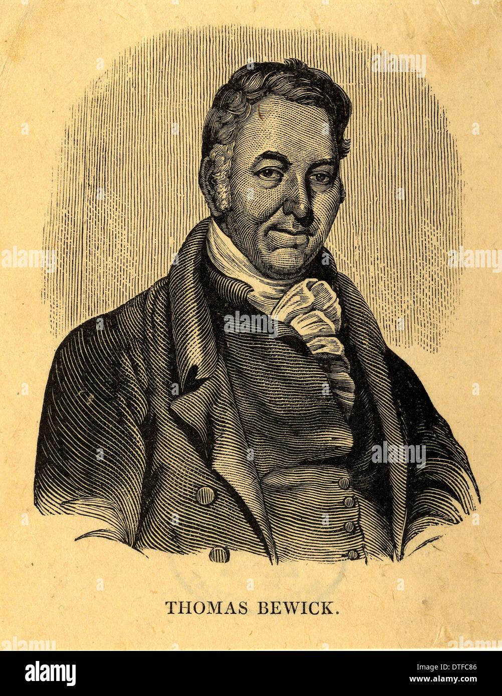 Thomas Bewick (1753-1828) Stock Photo