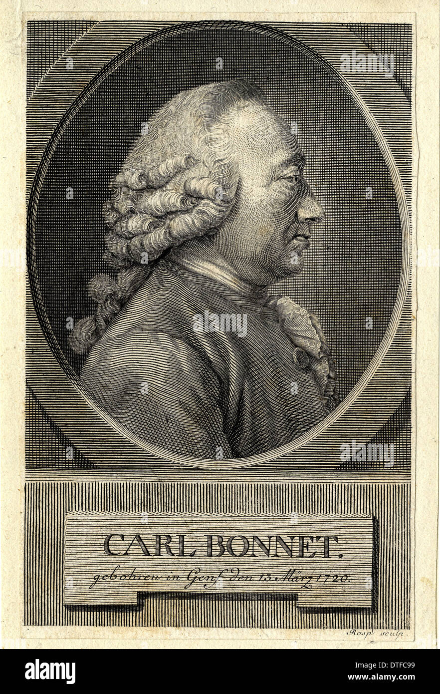 Carl Bonnet (1720-1793) - Stock Image
