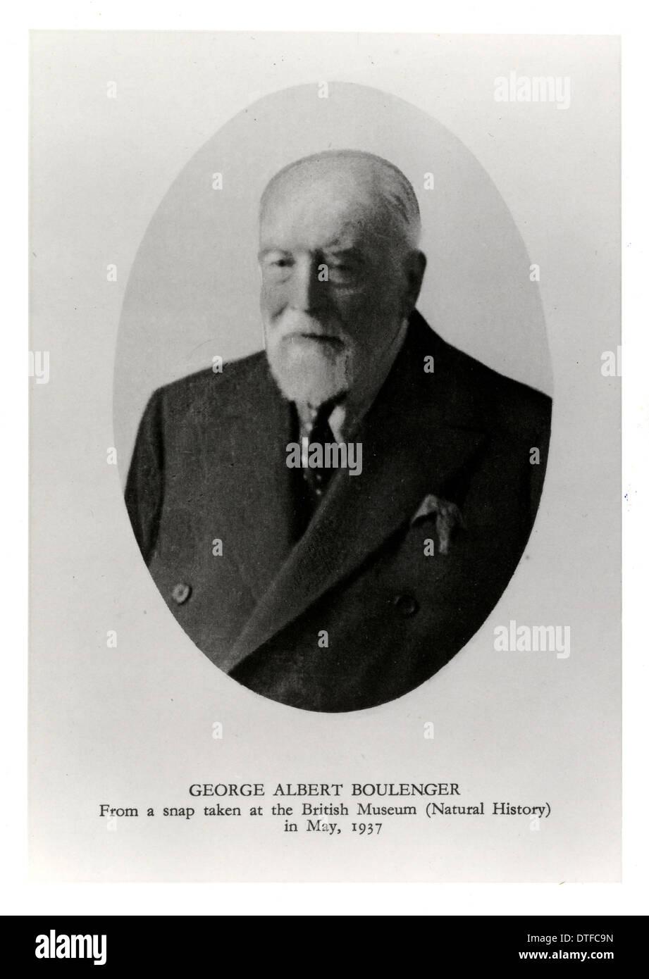 George Albert Boulenger (1858-1937) - Stock Image
