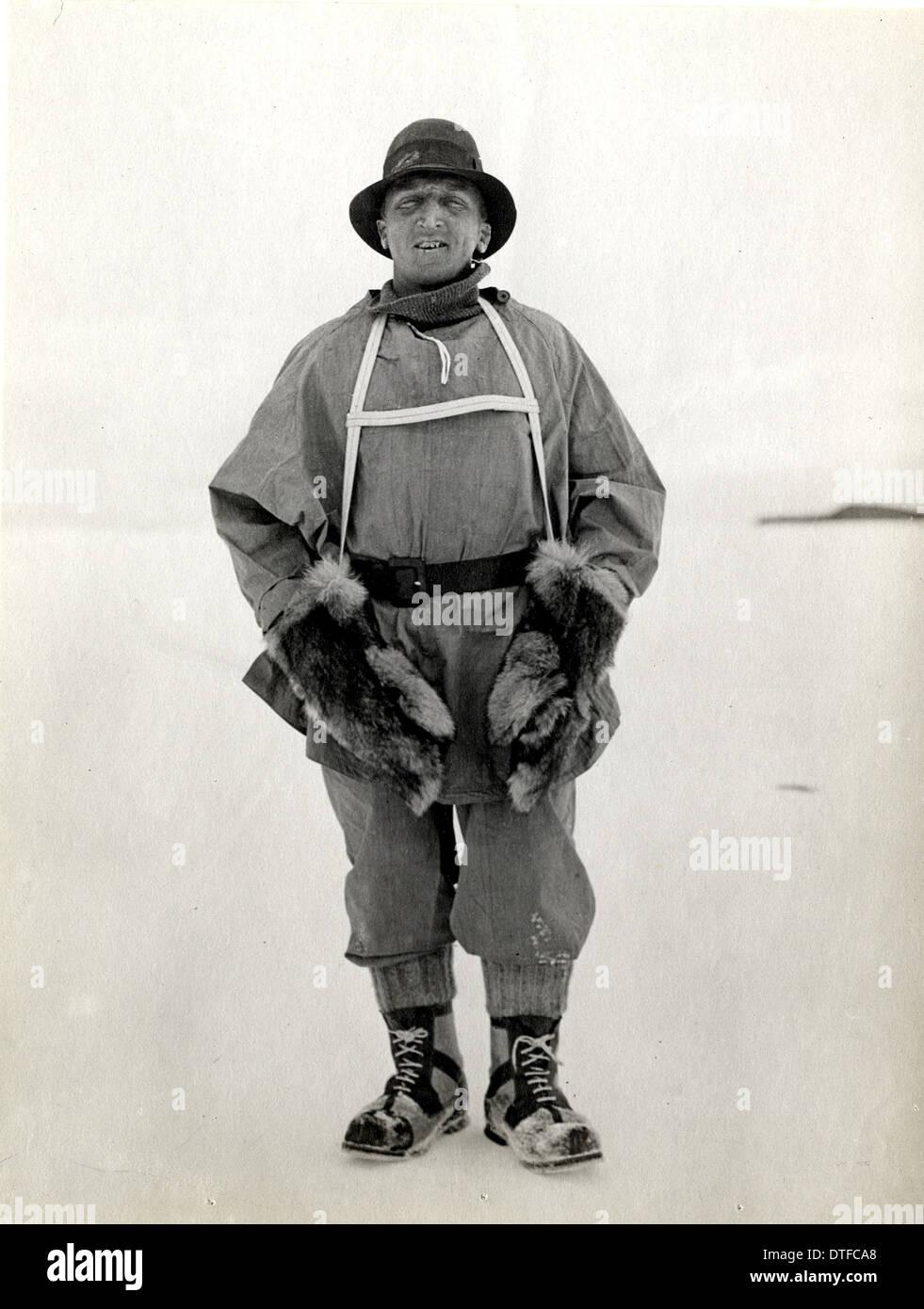 Henry Robinson Bowers (1883-1912) - Stock Image