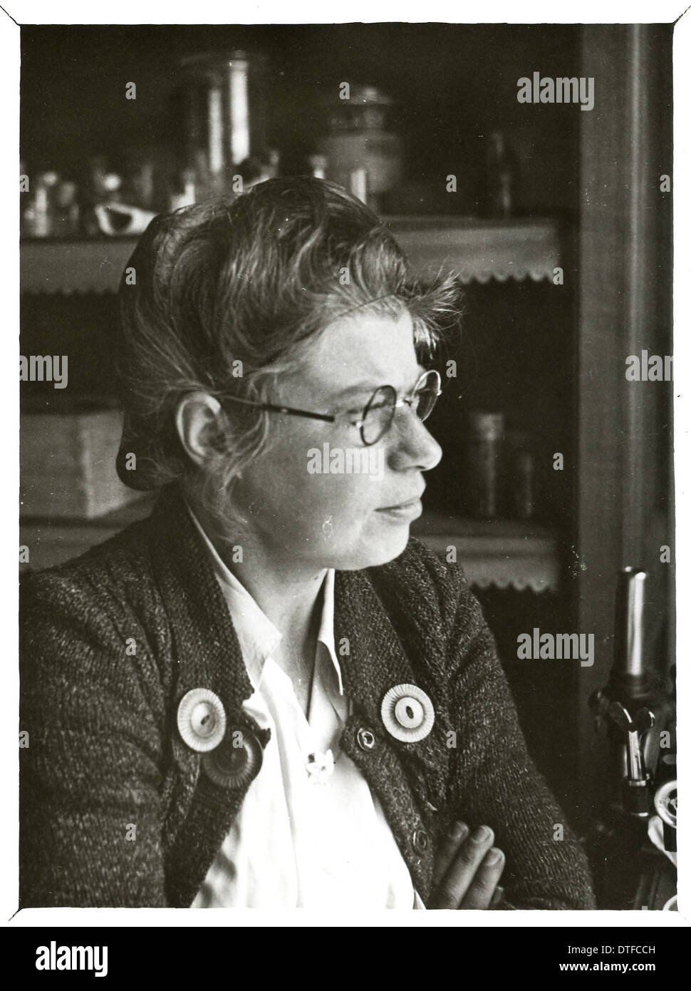 Alida M. Buitendijk (1903-1950) - Stock Image