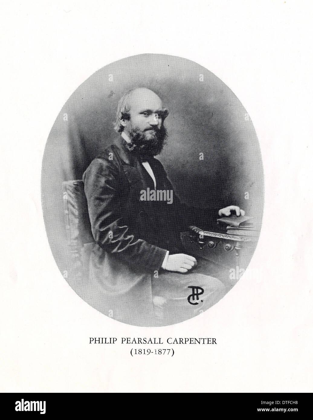 Philip Pearsall Carpenter (1819-1877) Stock Photo
