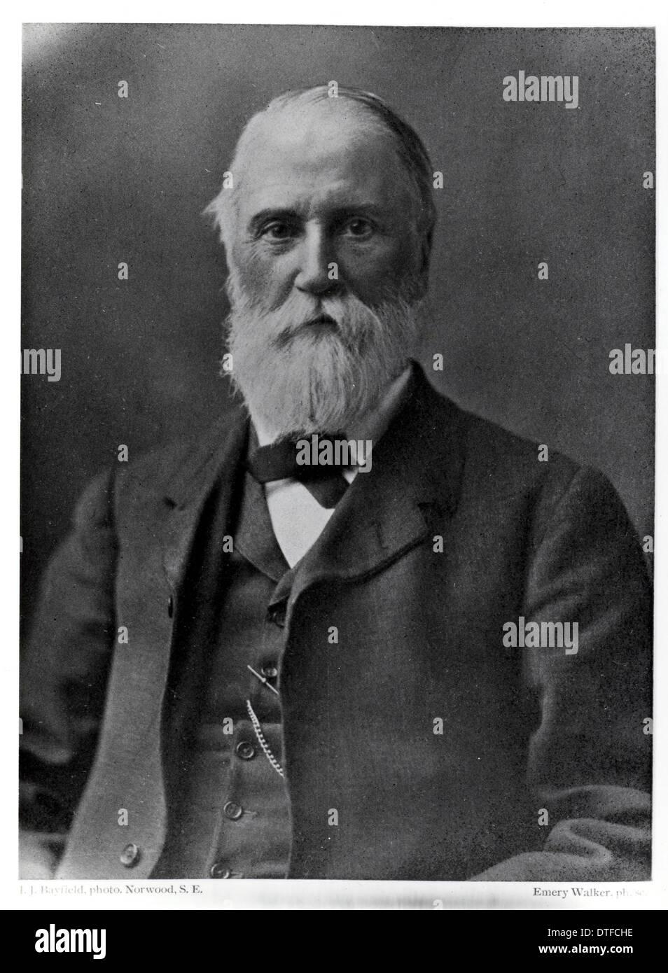 William Carruthers (1830-1922) - Stock Image