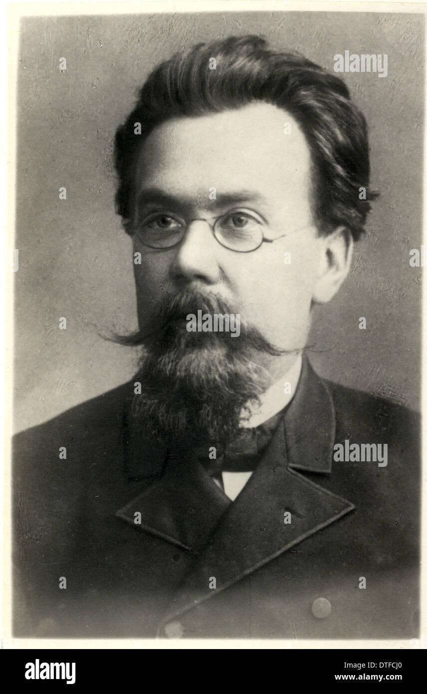 F. N. Chernyshev (1856-1914) - Stock Image