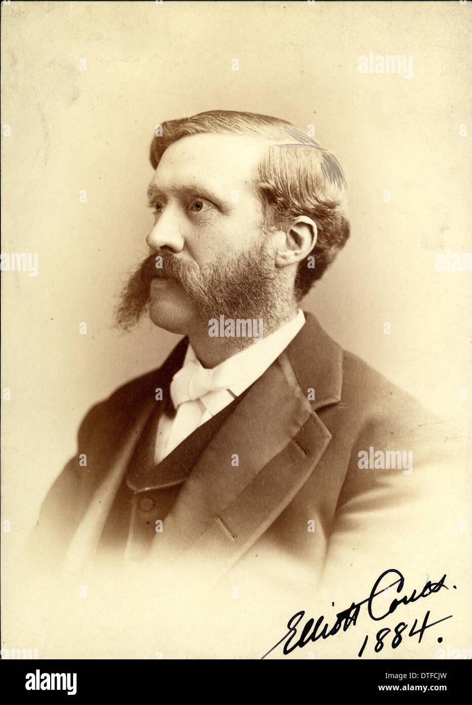 Elliott Cowes (1842-1899) - Stock Image