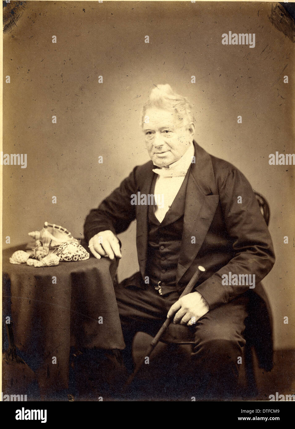Hugh Cuming (1791-1865) - Stock Image