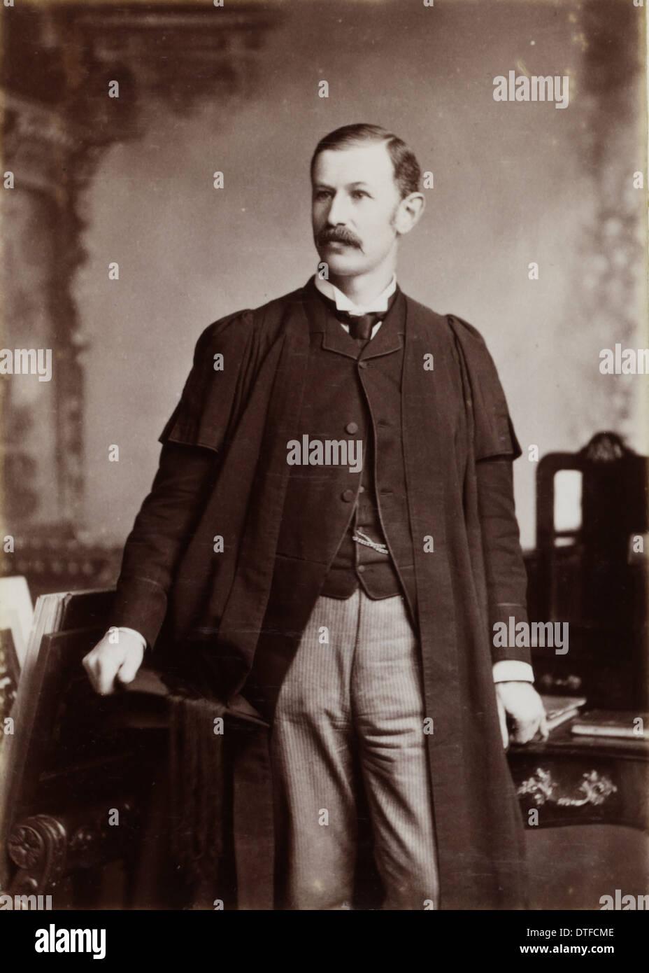 Daniel John Cunningham (1850-1909) - Stock Image