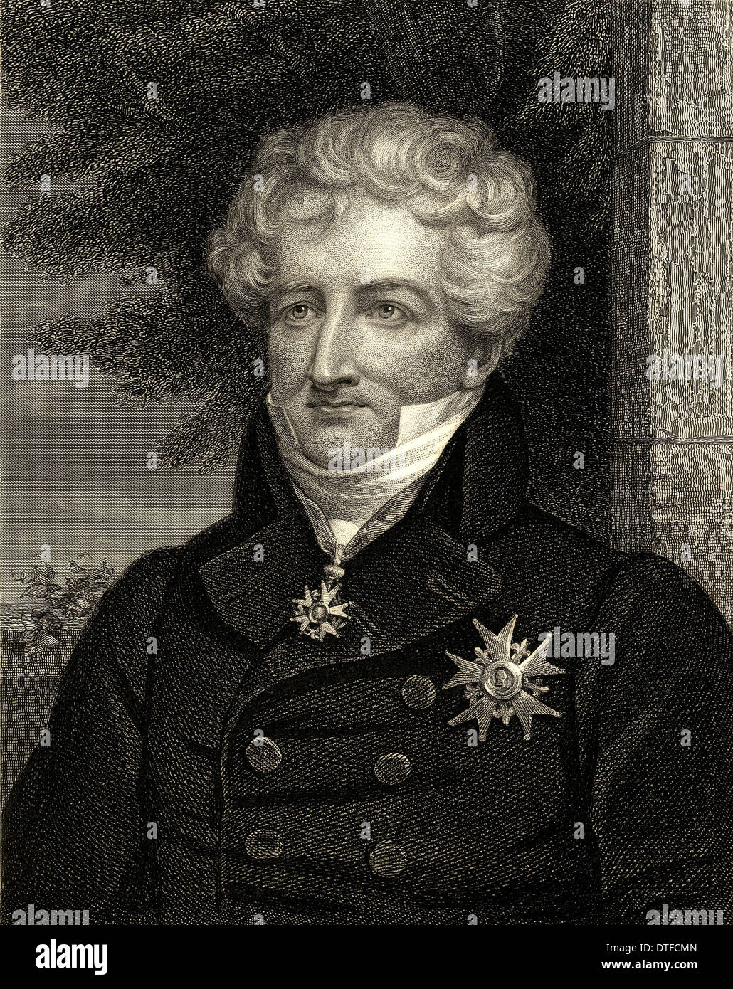 Baron Georges Cuvier (1769-1832) - Stock Image