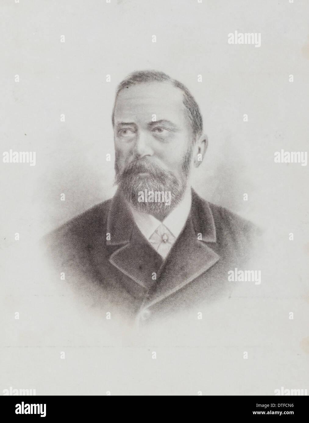 Friedrich Hermann Otto Finsch (1839-1917) - Stock Image