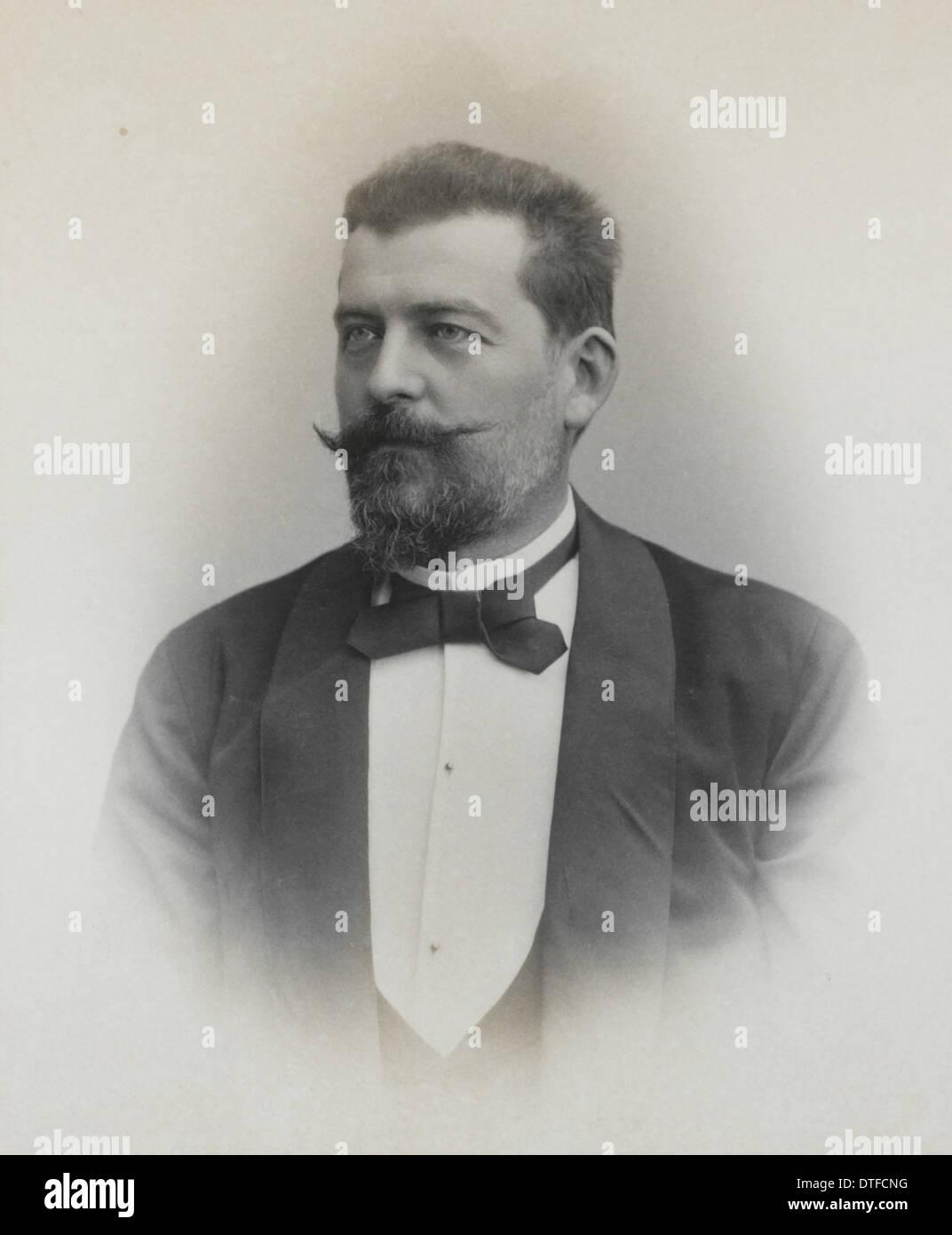 Ludwig von Graff (1851-1924) - Stock Image
