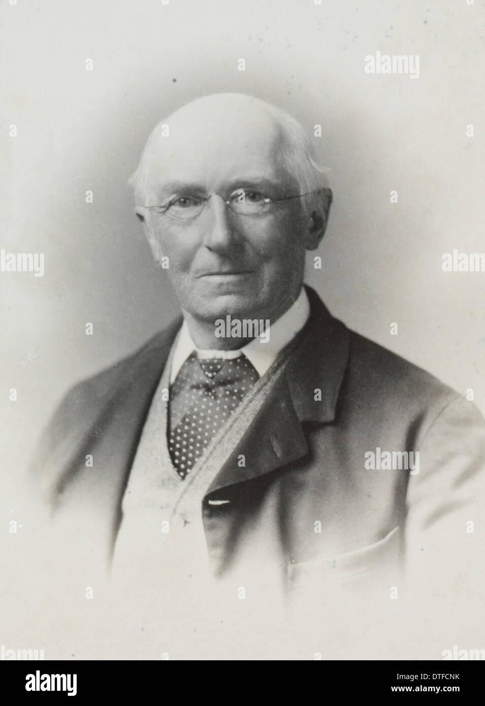 Albert Carl Ludwig Gotthilf Gunther (1830-1914) - Stock Image