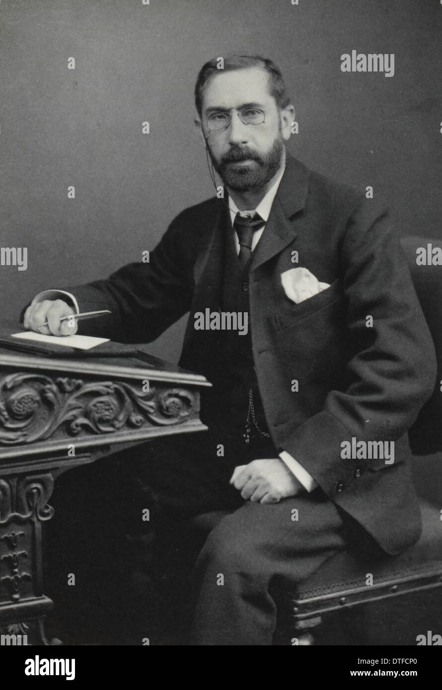 Sir William Abbott Herdman (1858-1924) - Stock Image
