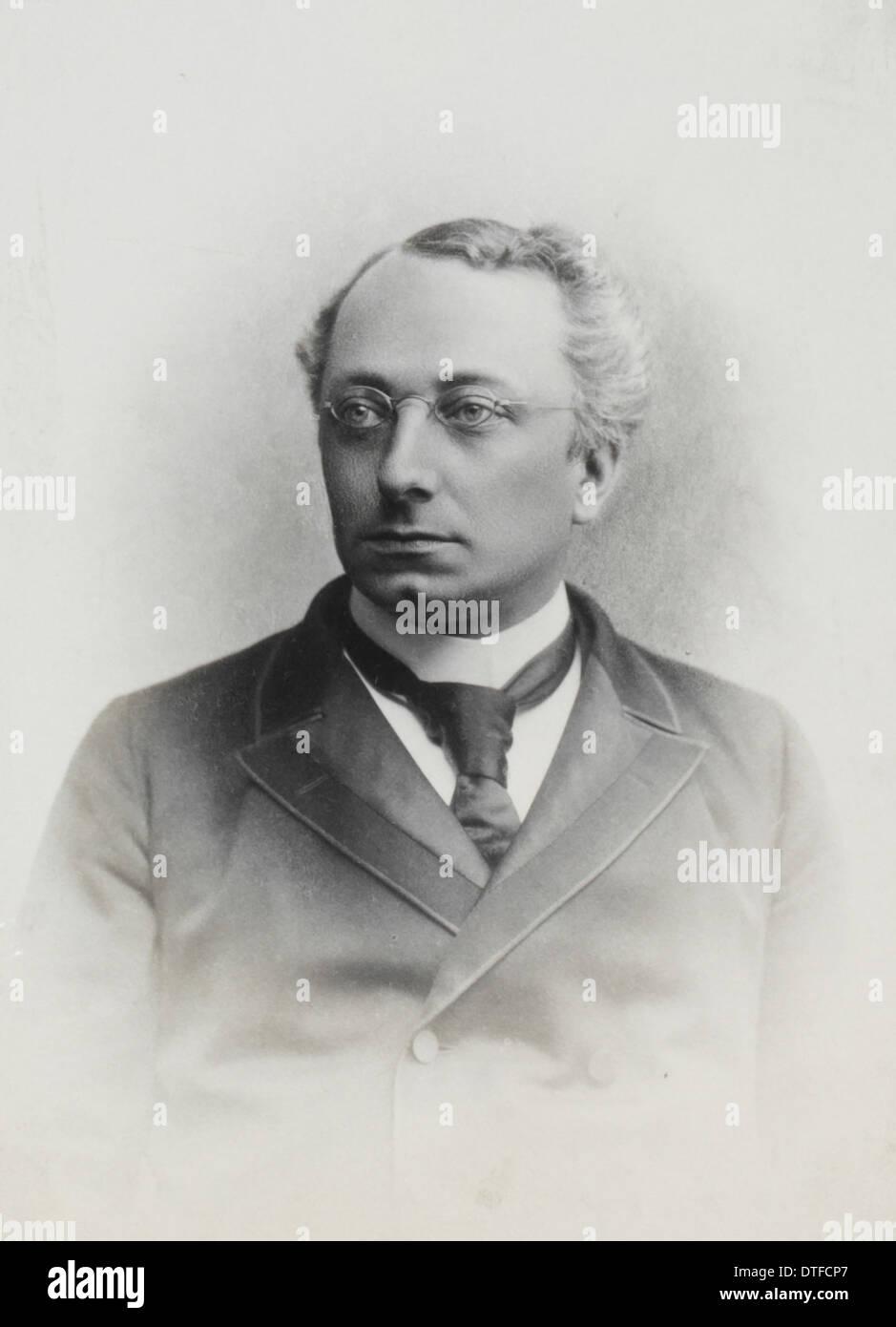 Ambrosius Arnold Willem Hubrecht (1853-1915) - Stock Image