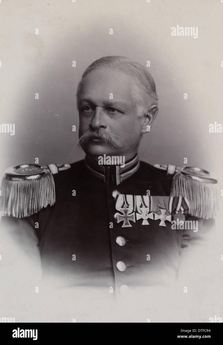 Otto von Linstow (1842-1916) - Stock Image