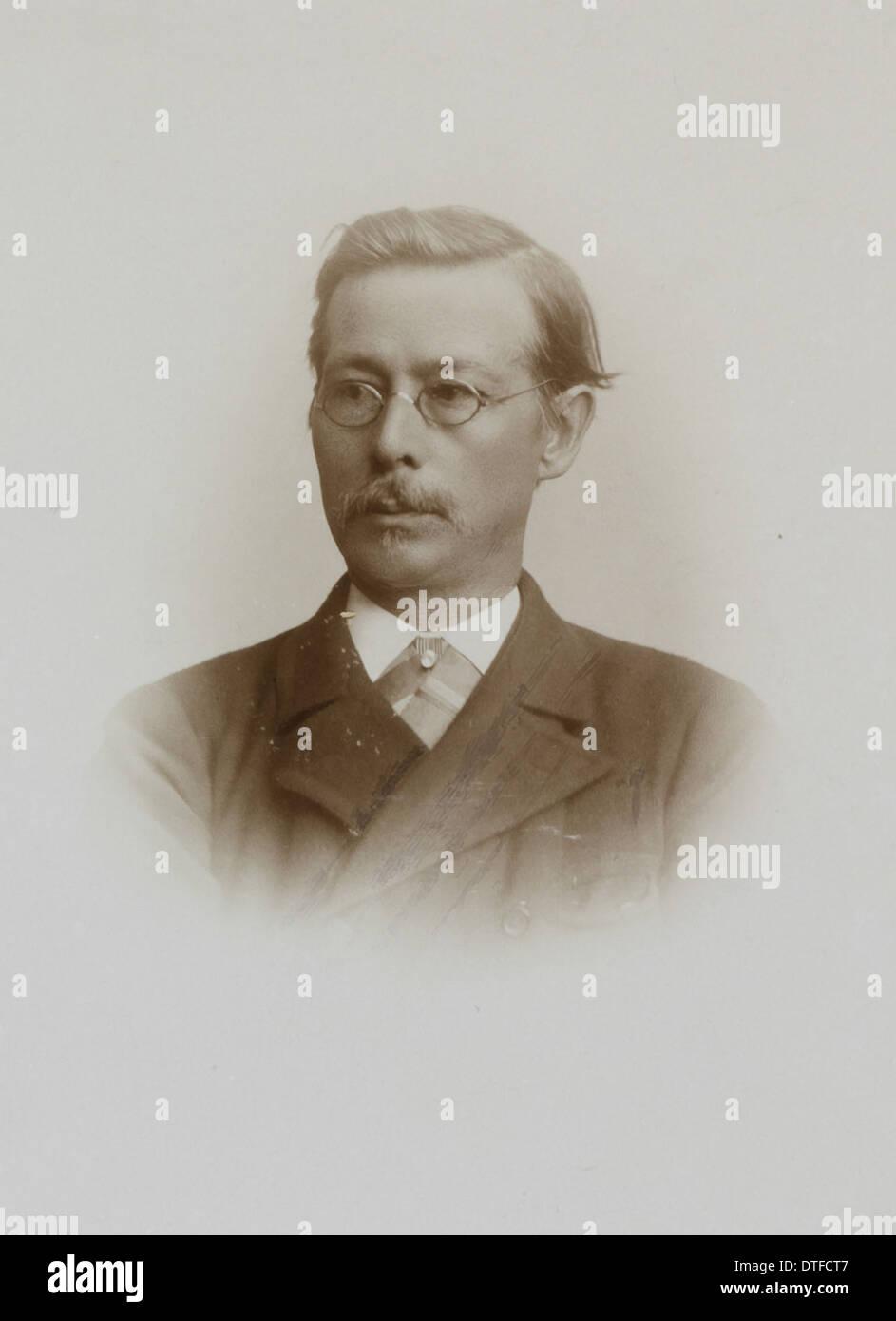 Georg Ossian Sars (1837-1927) - Stock Image
