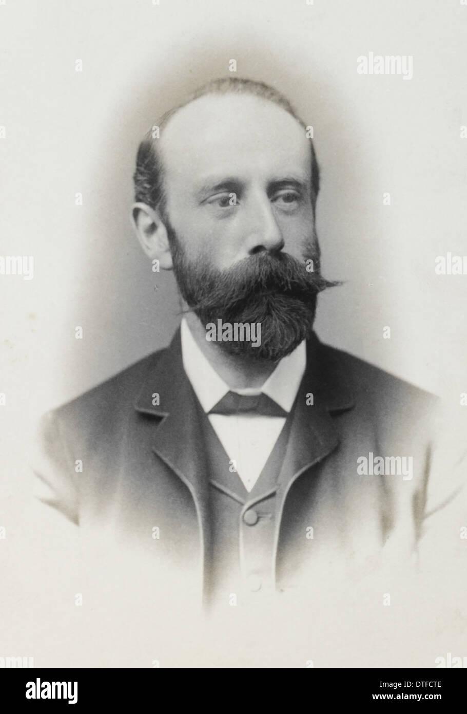 Walter Percy Sladen (1849-1900) - Stock Image