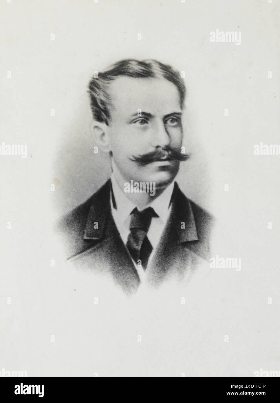 Rudolph von Willemoes Suhm (1847-1875)Stock Photo