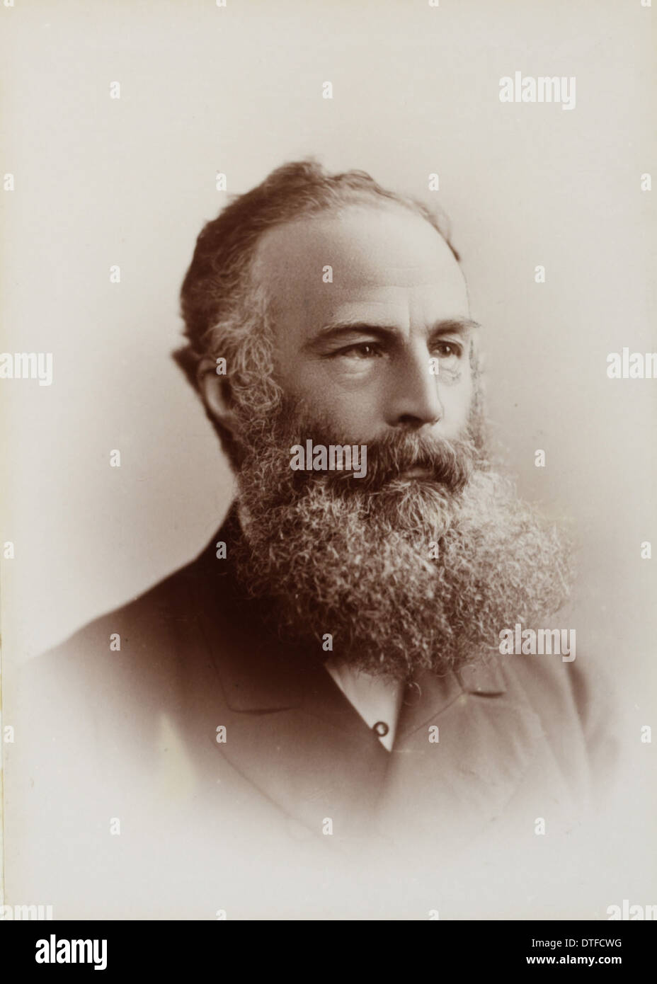 Edward Perceval Wright (1834-1910) Stock Photo