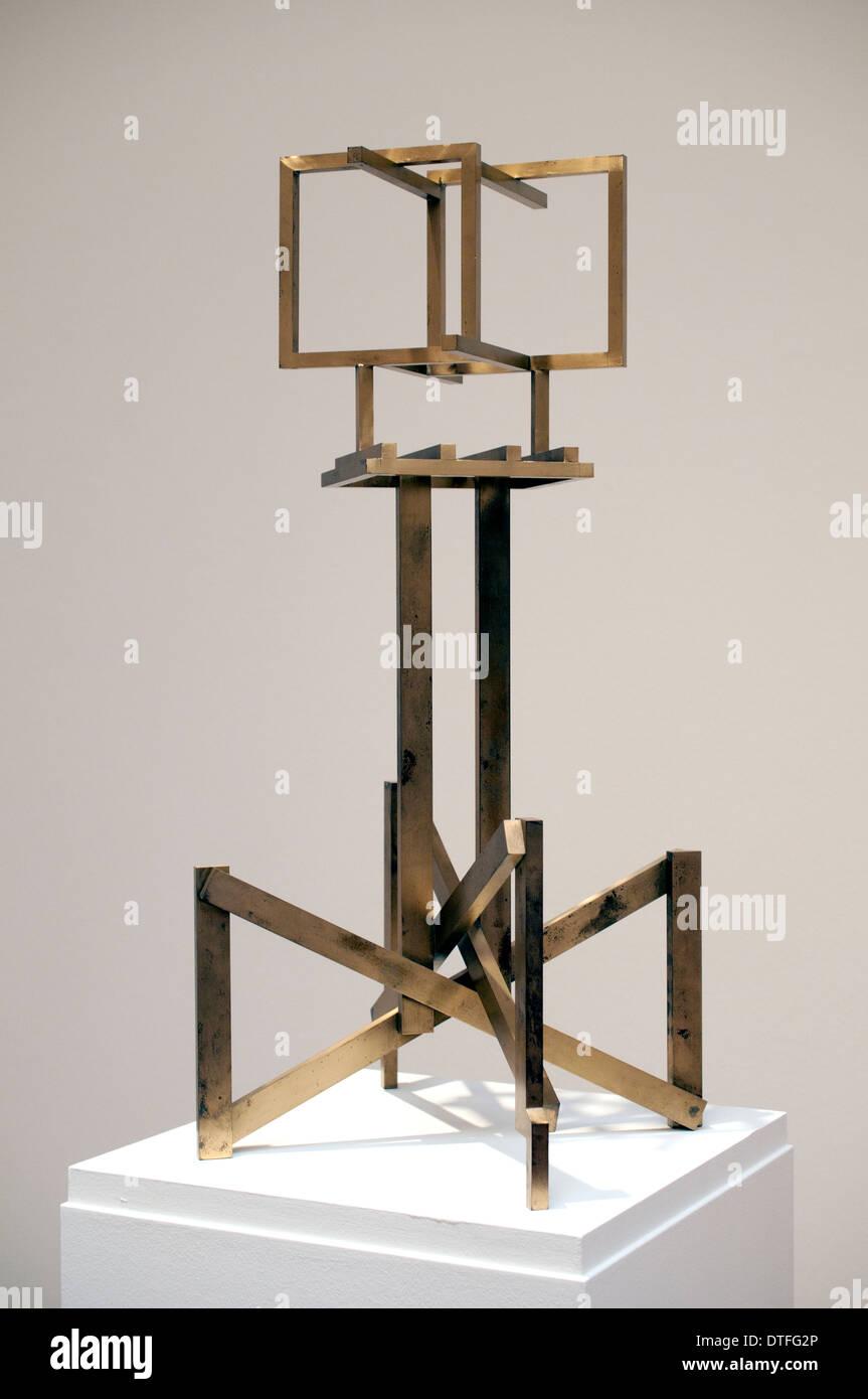 Spatial Construction No 16 Aleksander Mikhailovich Rodchenko Russian Russia artist sculptor Stock Photo