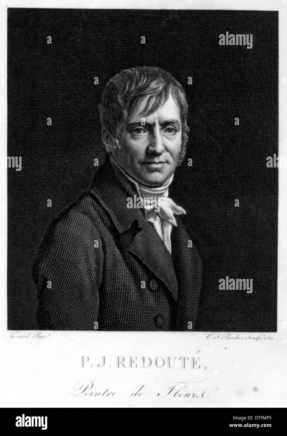 Pierre-Joseph Redouté (1759-1840) - Stock Image