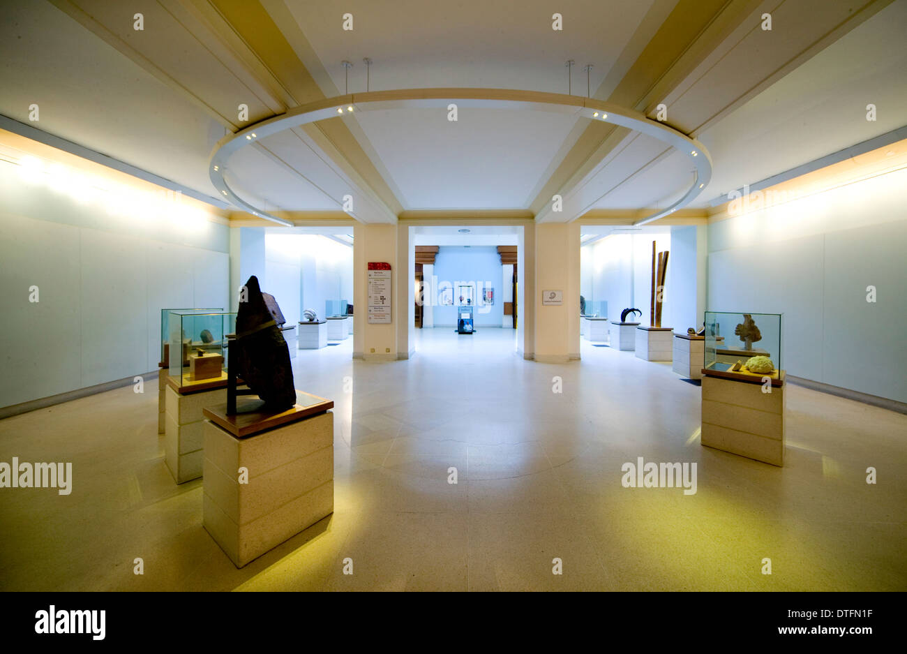 The Lasting Impressions gallery - Stock Image