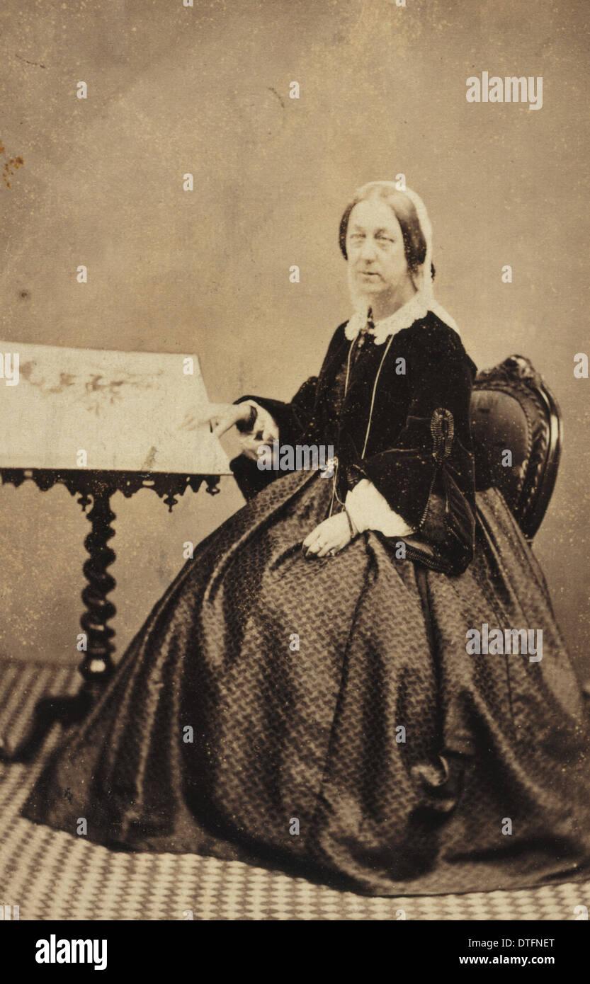 Elizabeth Twining (1805-1889) - Stock Image